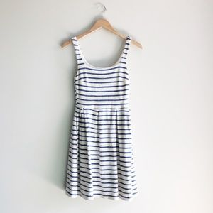Sunday in Brooklyn Blue Striped Fit & Flare Dress